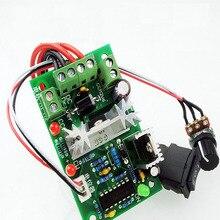 цена на CCM2 DC motor governor AC10V12V24V30V CW/CCW switch PWM DC controller 120W
