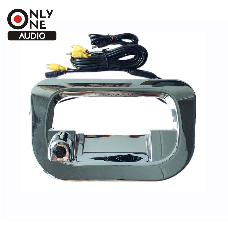 Car Wide Angle Lens Rear View Reverse Camera Tailgate Cover for Toyota Hilux Vigo 2005~2008 2009 2010 2011 2012 2013 2014 2015 for toyota hilux car wind deflectors window guards rain visor for toyota hilux vigo pickup 2005 2010 hilux wind deflector guards