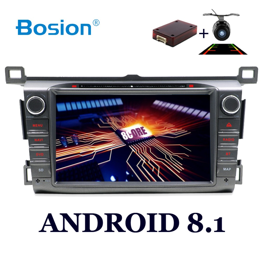 2 din car multimedia player Android 8 1 Car DVD Player For Toyota RAV4 RAV 4