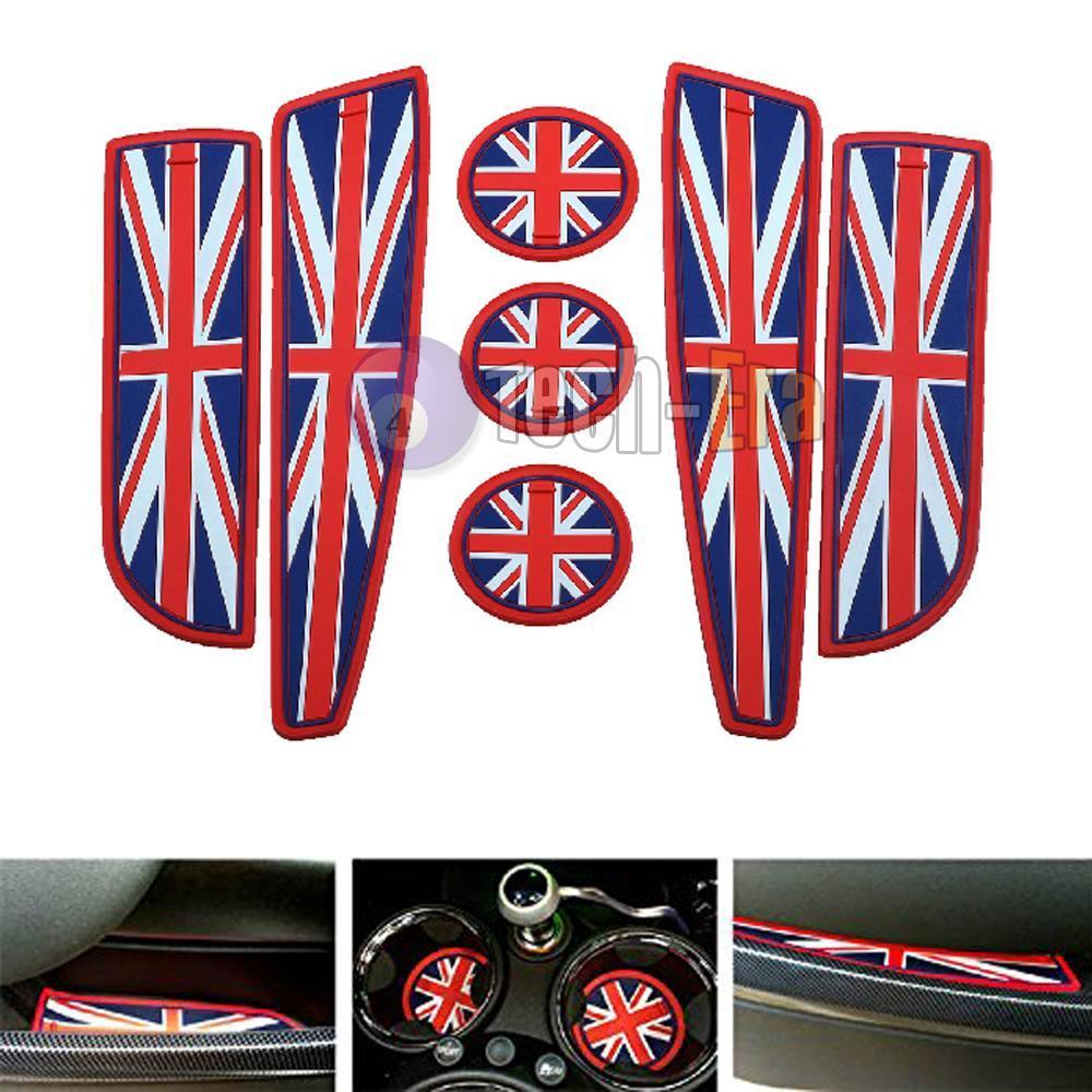 Mini cooper rubber floor mats uk - Union Jack Uk Flag Style Coasters For Mini Cooper Cup Holders Side Door Mats China
