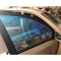 60x16ft/1.52x5m Auto Chameleon Windshield Window Film 69% Shade Change Color Car Side Window Tint Nano Ceramic Tint