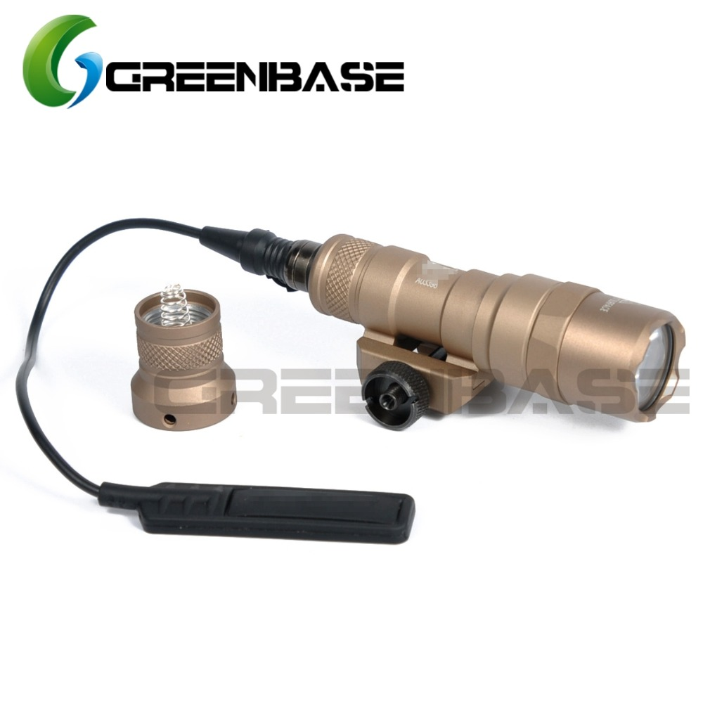 Best Seller Greenbase Sf M300 Tactical Led Light M300b Mini Scout Fuel Filter Constant Momentary 2 Modes 400