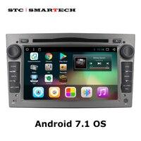 Android 7,1 2Din автомобильный DVD gps навигации Авторадио для Opel Astra H G J Antara VECTRA ZAFIRA Vauxhall с может BUS WI FI БД DVR