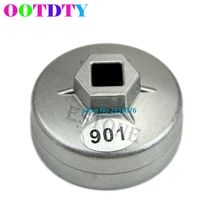 1/2 Square Drive 65mm 14 Flutes End Cap Oil Filter Wrench Auto Tool For Toyota APR3_10