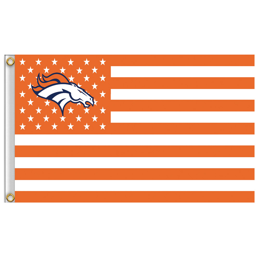 denver broncos flag 3 x t feet 90 150 cm nf in flags banners accessories from home. Black Bedroom Furniture Sets. Home Design Ideas
