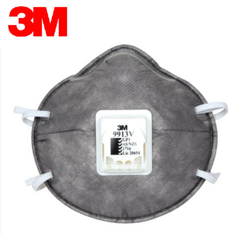 3M 9913V Dust Mask KN90 Anti Non-oily Particulate Matter Dust protective Masks Breathing Valve Mask AS/NZS/LA H012915 3m 9502 dust masks n95 anti particulate matter anti pm2 5 smog protective industrial dust influenza virus mask h012912