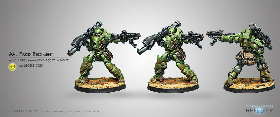 Купить с кэшбэком 28267 HI Heavy Assault Regiment Al Fasid (one person)