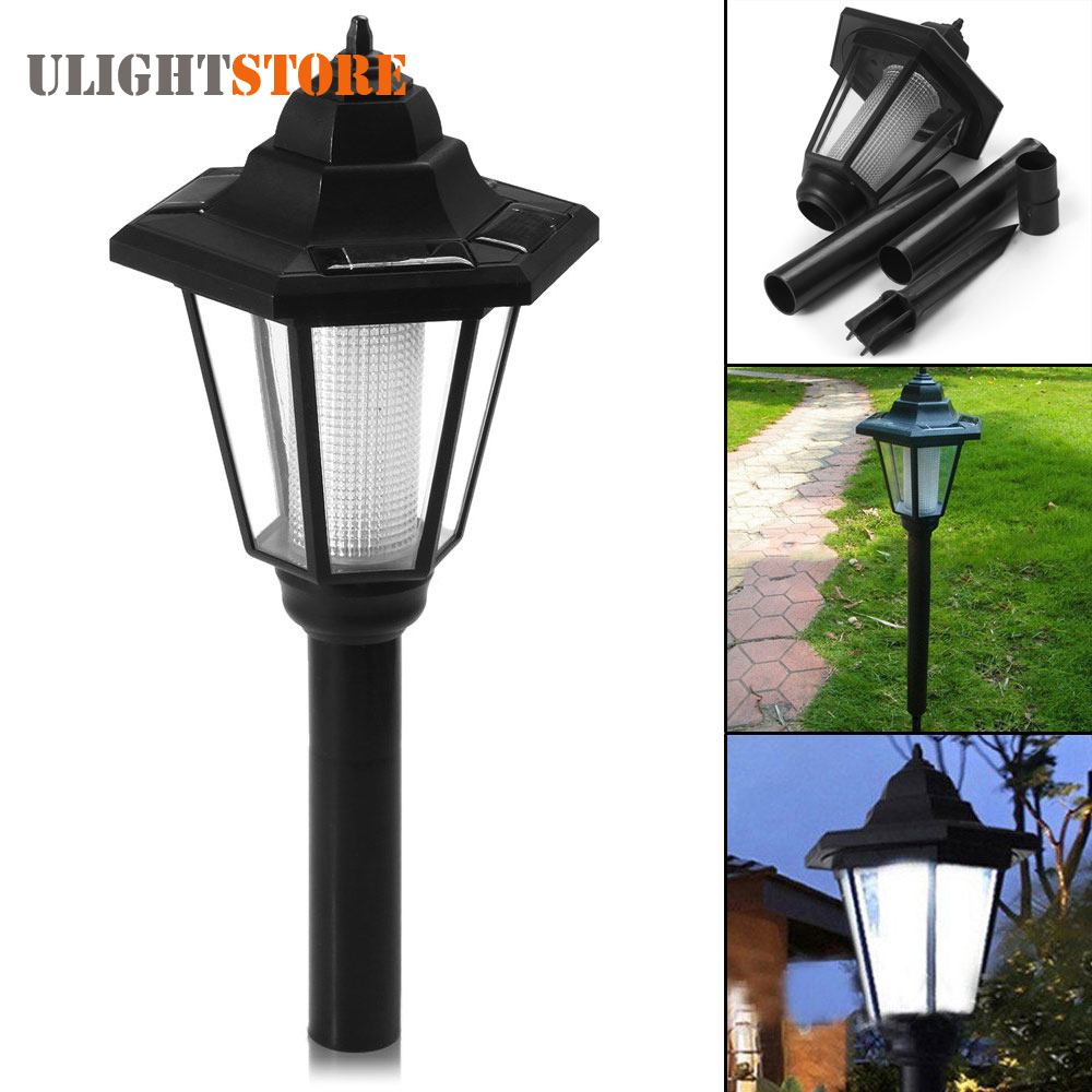 Solar Power Energy LED Pathway Light Outdoor Waterproof Fence Path Street Landscape Lawn Security Lamp for Garden Decoration