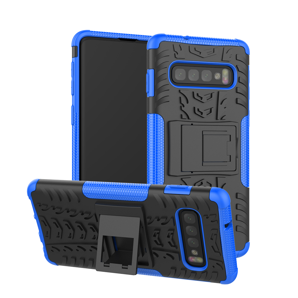 Case For Samsung Galaxy S10 Plus S9 Plus Case Heavy Duty Armor Stand Shockproof Cover For Samsung Galaxy S9 Plus S10e Case
