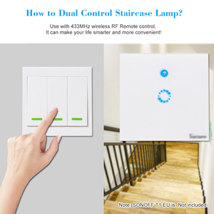 Image 3 - Wireless Remote Transmitter Sticky RF Intelligent Switch for Home Living Room Bedroom 433MHZ 86 Wall Panel Switches Smart Home
