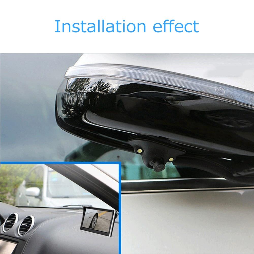 Image 2 - Universal HD Car Rear View Camera Car Mirror Camera Night Vision Infrared Auto Reverse Cameras Vehicle Parking Cameras-in Vehicle Camera from Automobiles & Motorcycles