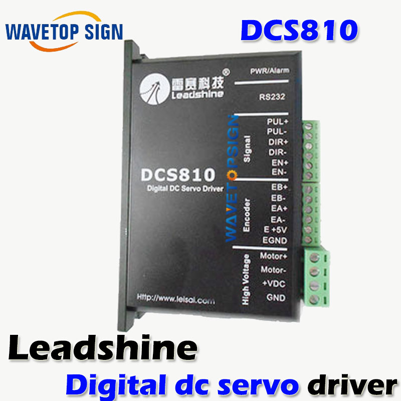 LEADSHINE DRIVE DCS810/DIGITAL DC SERVO DRIVER /USE FOR PRINNTER MACHINE ETC used 100% tested mcdht3520e ac servo drive mcdht3520e for pan servo driver mcdht3520e