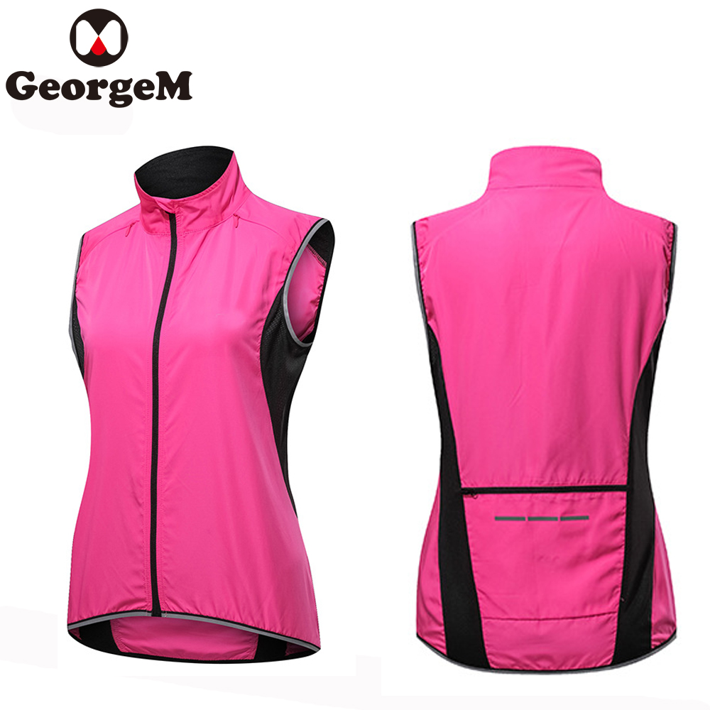 Rockbros Reflective Cycling Sleeveless Jersey Outdoor Sporting Wind Vest Special Buy Sporting Goods