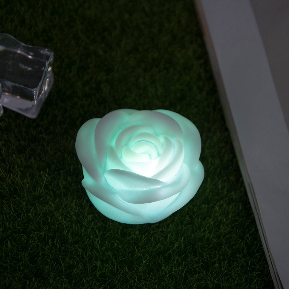 LED Night 1pc Lamp Romantic Rose Flower Night Light Color Changed Lamp LED Night Lights Interior Design
