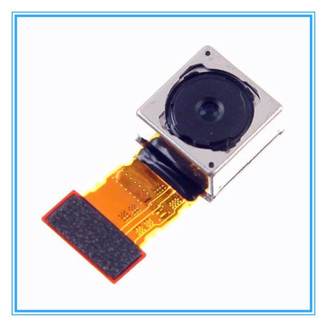 Teste um por um Original New Voltar Câmera Traseira Flex Cable para sony z3 compact z3 mini d5803 d5833 big câmera principal módulo