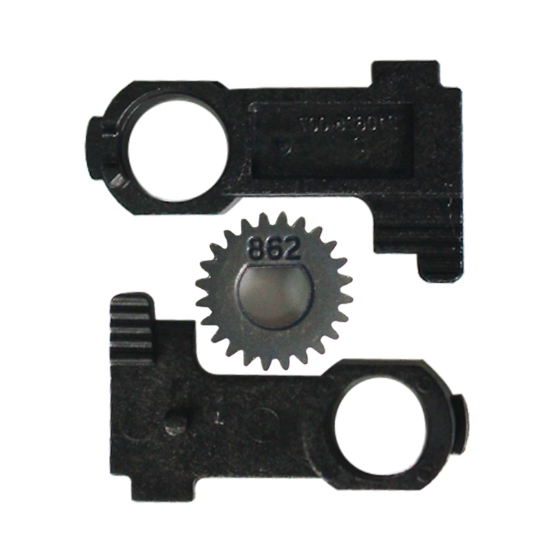 5set/lot Platen Roller Buckle & Gear For Zebra GK420D