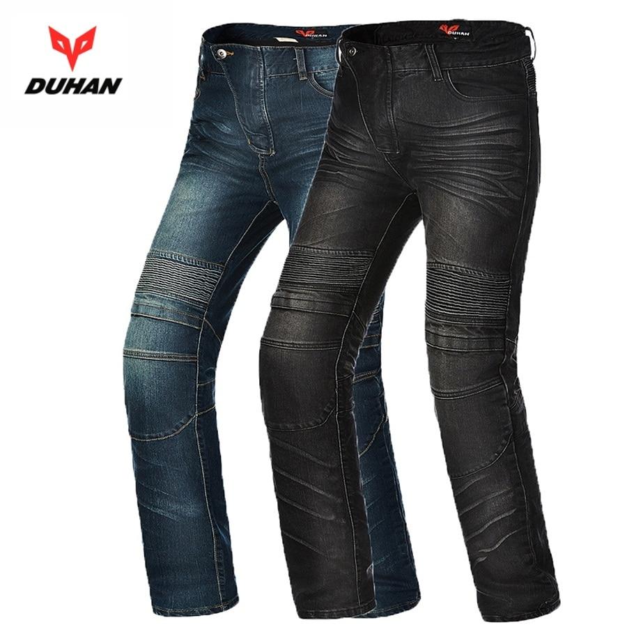 Бесплатная доставка 1шт мужская мотоцикл Байкер Хейли джинсовые брюки старинные Защита Pad брюки