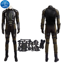 ManLuYunXiao Cosplay Costume Cyclops Roleplay X-Men Apocalypse Cosplay Men's Jacket Custom Made Free Shipping Hot Sale