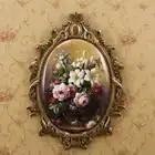Настенные вешалки в европейском стиле Американская страна декоративная тарелка на стену кулон из смолы листинг окрашенные садовые настенн...