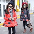 11.11 winter Girls Kids boys Dot good quality thickened cotton  coat  down outer clothing baby Clothes Children Clothing