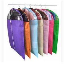 Free Shipping Home Dress Clothes Garment Suit Cover Case Dustproof Storage Bags Protector Non-Woven Thickening Laundry