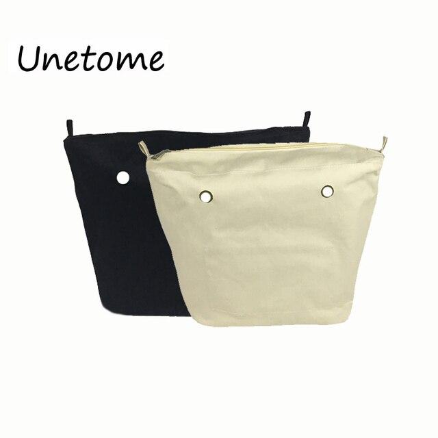 05b8ec47939 Nuevo tamaño clásico sólido impermeable insertar forro interior insertar  bolsillo con cremallera para Obag O bolso