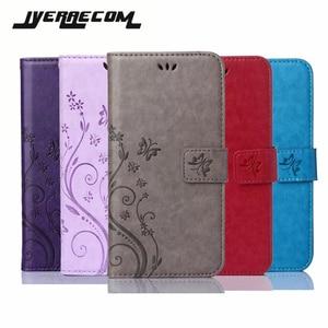 JYERAECOM Flip PU Leather + Wa