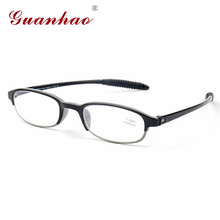 Guanhao Brand Ultralight Slim Reading Glasses Men Women Generic Easy To Carry Diopter Glasses Lightweight Resin Lens Material
