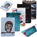 For Samsung Galaxy Tab A 9.7 Case Ultra Slim Smart Cover Stand Cartoon Leather Case For Samsung Galaxy Tab A SM-T550 T555 Tablet