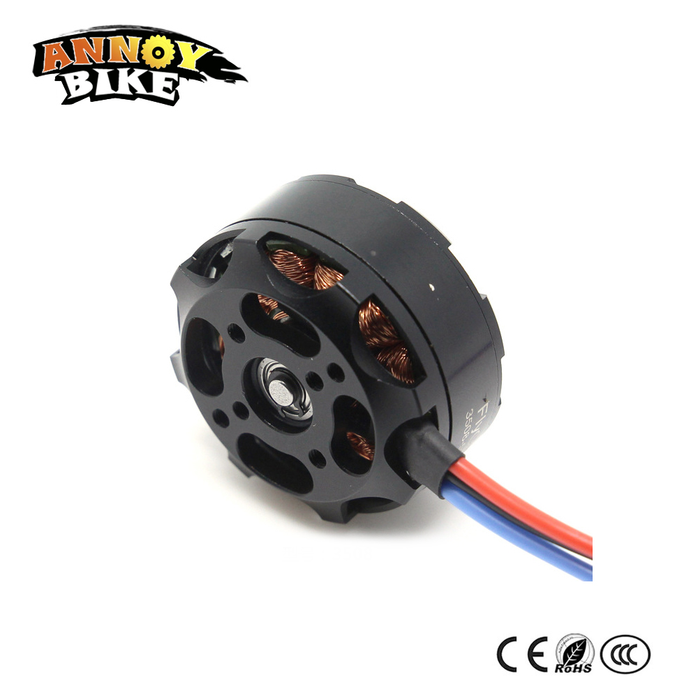 цена на 2PCS External Rotor Brushless DC motor 3508 24V high-power motor model accessories Multi-axis KV580 KV380 KV700