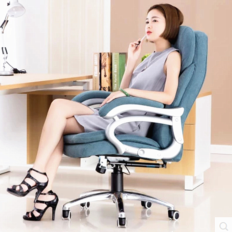 High Quality Office Chair Leisure Computer Household Lying Thicken Boss Chair Swivel Lifting Reclining Chair 240311 high quality pu leather computer chair stereo thicker cushion household office chair steel handrails
