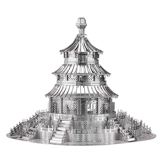 Saint Basils Cathedral 3D Metal Puzzles Moscow Taj Mahal Building Model Kits Laser Cut Jigsaw Adults NOTRE DAME Home Decor Toys