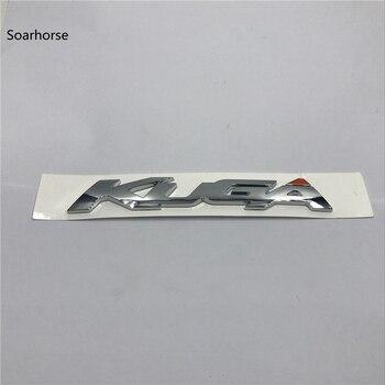 Soarhorse Für Ford Kuga Chrome Abs Aufkleber Auto Heckklappe Buchstaben Abzeichen Logo Emblem Aufkleber