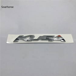 Soarhorse For Ford KUGA Chrome ABS Decal Car Rear Trunk Lid Letters Badge Logo Emblem Sticker