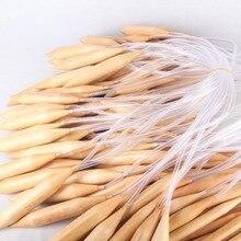 3 шт./компл. бамбуковые круговые спицы крючок 25 mm20 mm15 мм Шерсть DIY инструмент круговые спицы для крышки