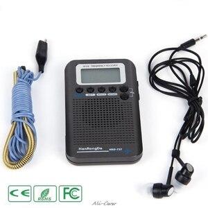 Image 3 - HRD 737 digital display lcd rádio banda completa portátil fm/am/sw/cb/ar/vhf mundo banda receptor estéreo rádio com despertador