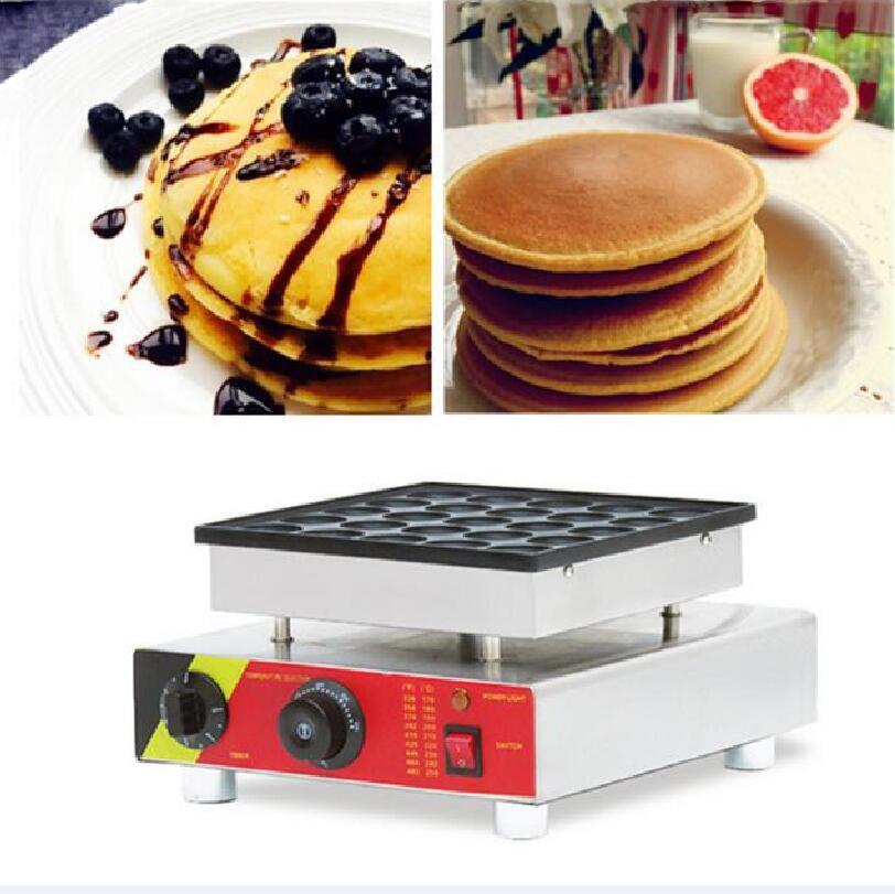 25 holes waffle maker biscuit mini pancake Dutch Poffertjes  baker machine 220v/110v25 holes waffle maker biscuit mini pancake Dutch Poffertjes  baker machine 220v/110v