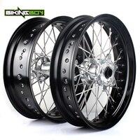 BIKINGBOY 17 Front Rear Wheels Rims Hubs For KTM SX XC 150 250 300 2012 2014 SX 125 SX F 250 350 450 13 14 XC F 250 350 2012 13