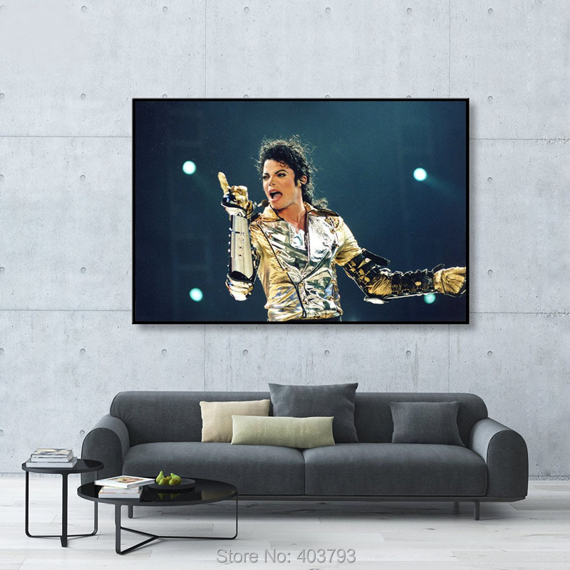 canvas art hd print and poster abstract modern no framed king of pop michael jackson music