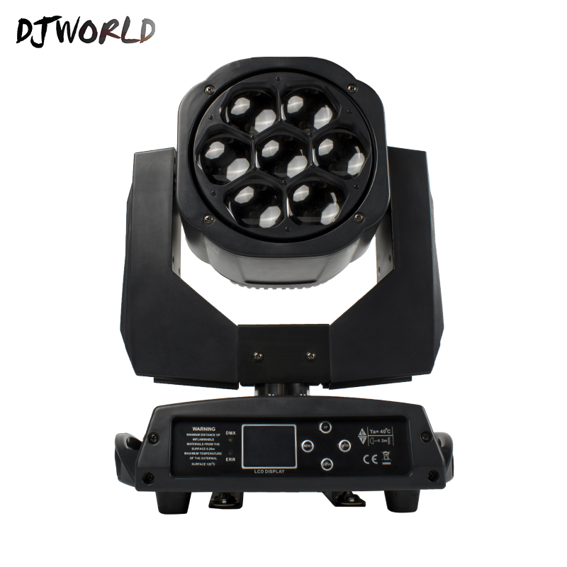 Moving Head Beam Light 7x15W RGBW Bee Eye Professional DMX Stage Effect Light For DJ  Disco Or Home Entertainment TV Studio