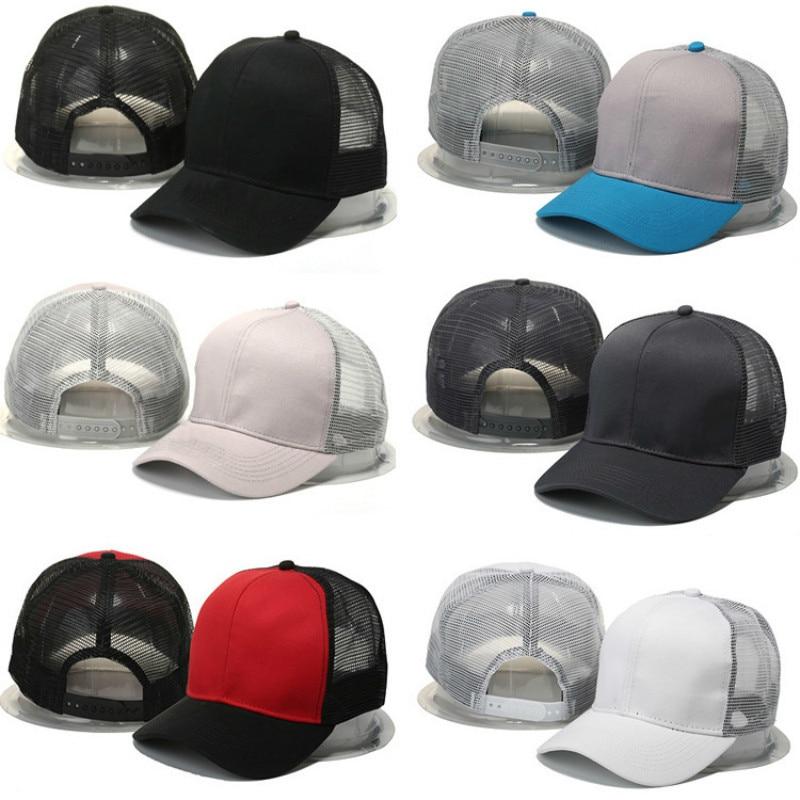 Novi slog visoke kakovosti Enobarvna baseball kapa Snapback klobuk - Oblačilni dodatki