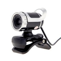 Hot USB 2.0 12 Megapixel HD Camera Web Cam 360 Degree with MIC Clip on for Desktop Skype Computer PC Laptop