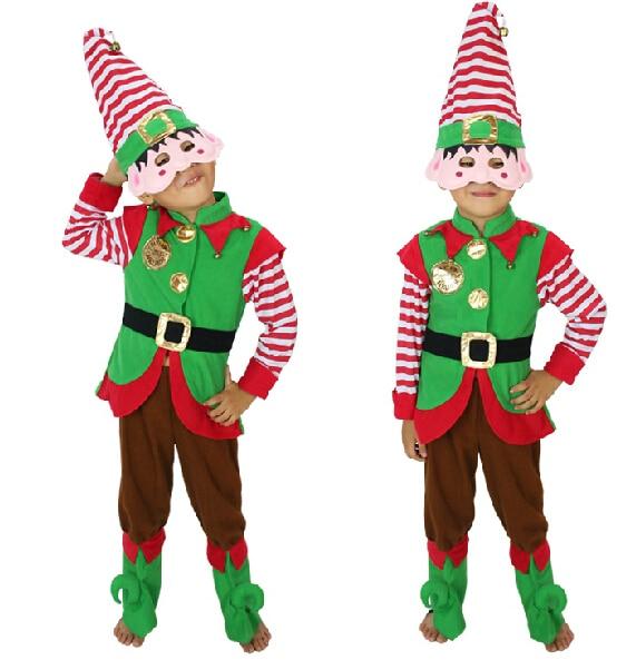 Duendes de la navidad trajes compra lotes baratos de - Disfraces de duendes de navidad ...
