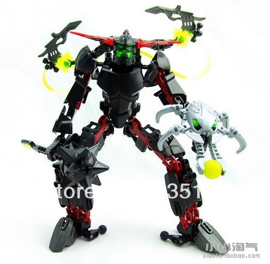 DECOOL 2013 NEW HOT SALES 9988 3D hero factory 4 STAR SOLDIER BLACK PHANTOM building blocks sets educational toys - Dina Toy INC Store store