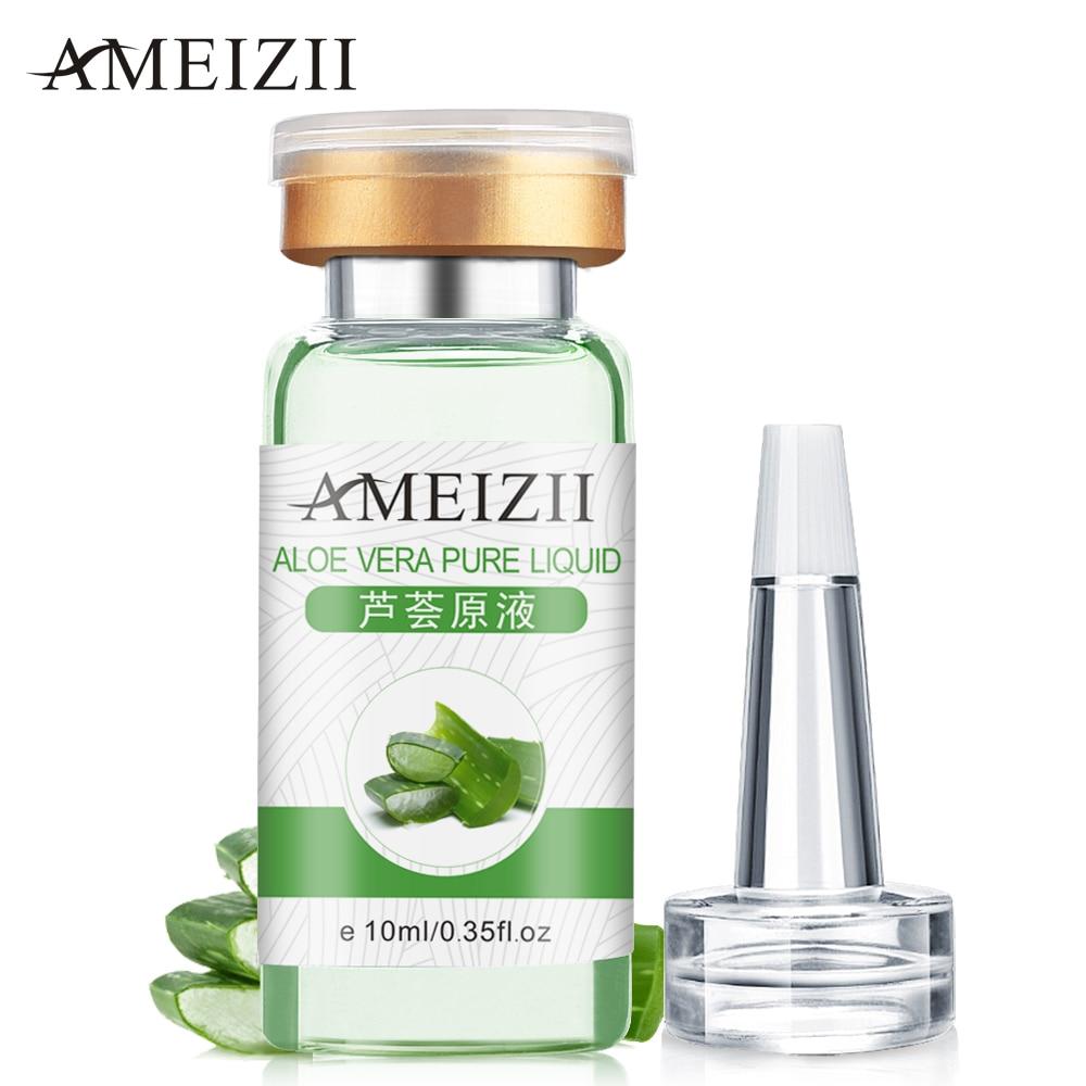 AMEIZII אלוורה נוזל ניקוי פנים טבעי יום קרם יום קרם לחות Remover אנטי אייג'ינג אקנה הלבנה בסרום תמצית מהות