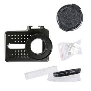 Image 5 - Новый Для Xiaomi Yi 2 4k аксессуар алюминиевый сплав металлический корпус рамка защитный чехол yi клетка для Xiao Yi 4k Экшн камера
