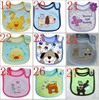 Free Shipping 5pcs Pack Cotton Baby Boys Girls Bibs Infant Embroidered Saliva Towels Carter S Baby