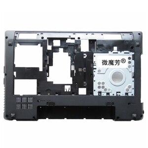 Image 4 - NEW FOR Lenovo Lenovo G580 G585 Bottom Cover /Palmrest Upper Case With HDMI Port Drawing Bench