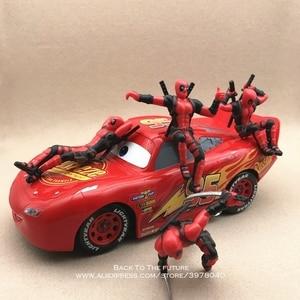 Image 5 - Disney Marvel X Men Deadpool 2 Action Figure Sitting Posture Model Anime Mini Doll Decoration PVC Collection Figurine Toys model