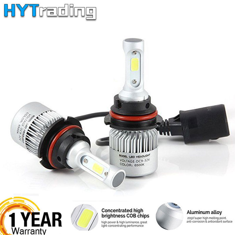 H7 Car LED Headlight Bulbs,H4 H1 H11 H3 H7 H8 9005 9006 LED Headlamp,Led Automotivo 12V 8000LM 72W White S2